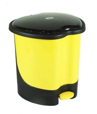 大号苹果型垃圾桶12l 2546